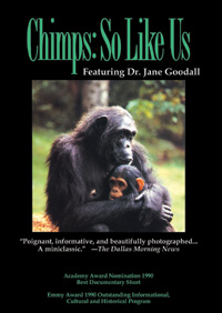 Chimps: So Like Us (DVD)